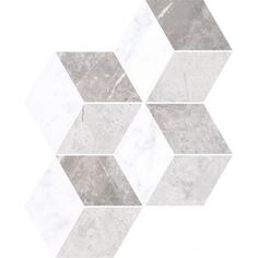 Мозаика Vitra Marmori Ромб Теплый Микс 24х30 см
