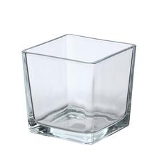 Ваза Hakbijl glass cubic 12x12x12см