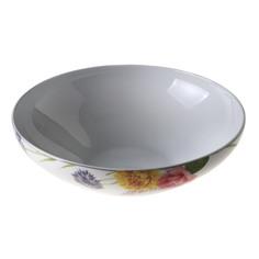 Салатник круглый Noritake Пикник в саду 25 см