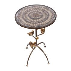 Столик декоративный Bogacho Терра (птички)