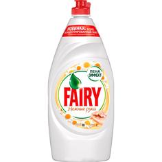 Набор средство для мытья посуды Fairy Нежные руки Ромашка и витамин Е 900 мл + Pure&Clean 450 мл