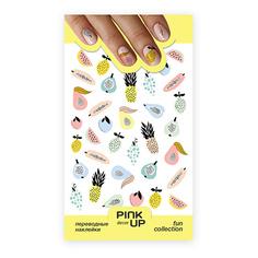 Наклейки для ногтей PINK UP DECOR FUN переводные тон 674