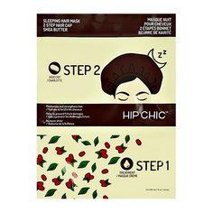 2-Ступенчатая система ухода за волосами HIP CHIC ночная с маслом ши сыворотка, шапочка 20 мл + 1 шт