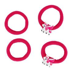 Набор резинок MISS PINKY 4 шт