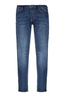 Ярко-синие джинсы Emporio Armani