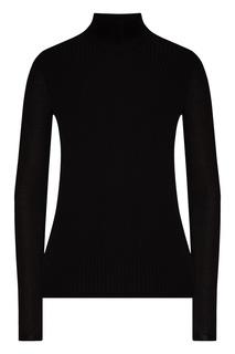 Водолазка черного цвета в рубчик Prada