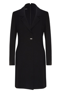 Черное платье-жакет Emporio Armani