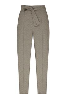 Серые брюки со стрелками и поясом Isabel Marant