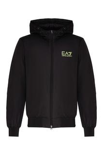 Легкая куртка с капюшоном EA7
