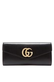 Черный клатч Broadway с Double G Gucci