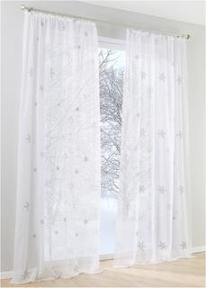 Шторы Гардина Снежинка (1 шт.) Bonprix