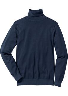 Пуловерыи кардиганы Пуловер Regular Fit с высоким воротником Bonprix