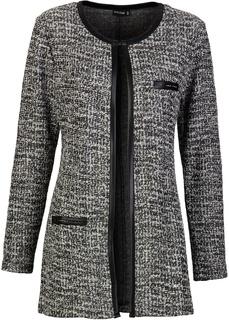 Пиджаки Удлиненный жакет с люрексом Bonprix