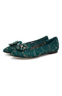 Текстильные слиперы Rainbow Lace Dolce & Gabbana