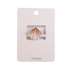 TWINKLE Заколка для волос Sea Shell Beige