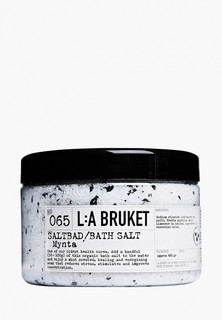 Соль для ванн La Bruket 065 MYNTA/MINT Saltbad /Sea Salt bath 450 g