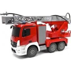 Радиоуправляемая пожарная машина Double Eagle Mercedes-Benz Actros масштаб 1:20 - E527-003