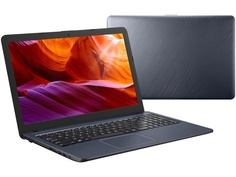 Ноутбук ASUS X543UB-DM1169 Star Gray 90NB0IM7-M16550 (Intel Pentium 4417U 2.3 GHz/4096Mb/256Gb SSD/nVidia GeForce MX110 2048Mb/Wi-Fi/Bluetooth/Cam/15.6/1920x1080/Endless OS)