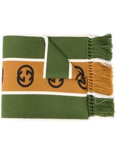Gucci шарф с логотипом Interlocking G