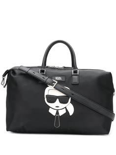 Karl Lagerfeld сумка Ikonik Weekender