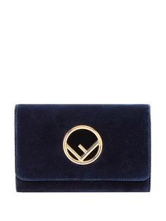 Fendi сумка-кошелек размера мини на цепочке