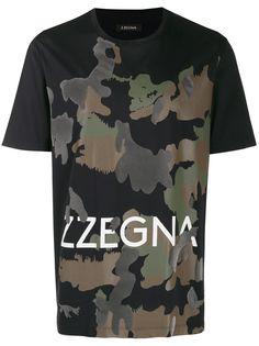 Z Zegna футболка с камуфляжным принтом