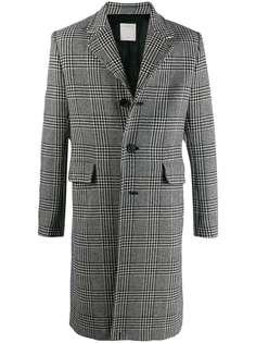 Sandro Paris пальто в клетку