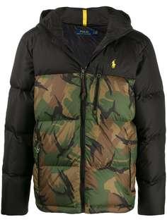 Polo Ralph Lauren куртка с камуфляжным принтом