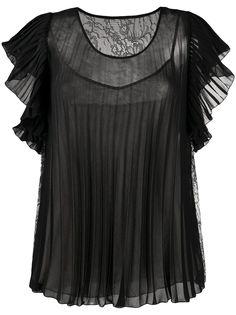 Boutique Moschino плиссированная блузка