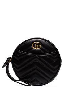 Gucci круглый клатч GG Marmont