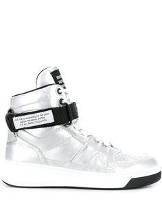 MSGM высокие кроссовки с ремешком