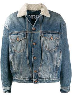 Diesel джинсовая куртка D-Resky
