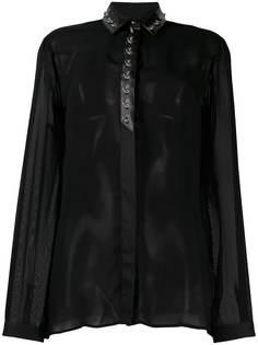 Just Cavalli блузка с кольцами