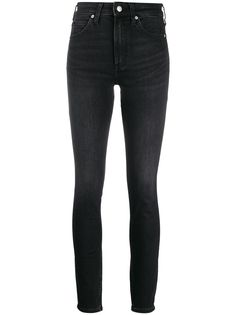 Calvin Klein джинсы скинни с завышенной талией