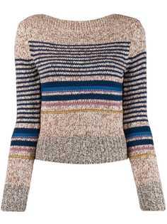 See By Chloé свитер в горизонтальную полоску