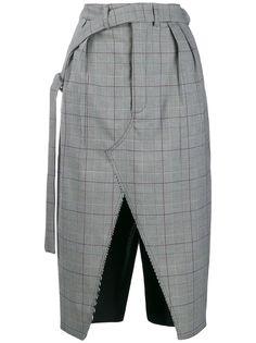 UNRAVEL PROJECT юбка с разрезами