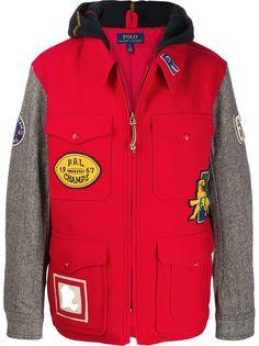 Polo Ralph Lauren куртка с нашивками