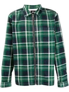 Stussy куртка-рубашка в клетку