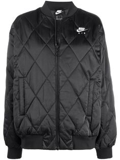 Nike Air quilted bomber jacket