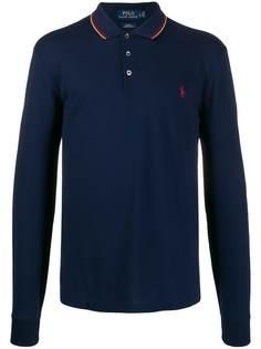 Polo Ralph Lauren рубашка-поло с длинными рукавами и логотипом