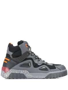 Diesel спортивные ботинки со вставками