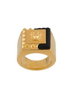 Versace кольцо с логотипом