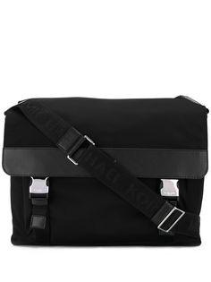 Michael Kors double buckle messenger bag