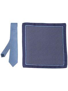 LANVIN сет из галстука с платком-паше