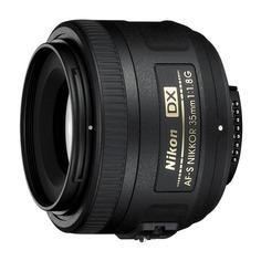 Объектив NIKON 35mm f/1.8 AF-S DX Nikkor, Nikon F [jaa132da]