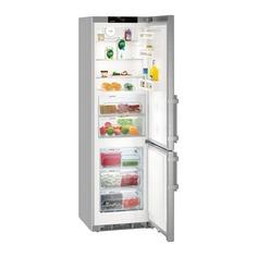 Холодильник LIEBHERR CBNef 4815, двухкамерный, серебристый