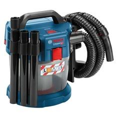 Строительный пылесос BOSCH GAS 18V-10 L, аккумуляторный, синий [06019c6300]