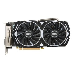 Видеокарта MSI AMD Radeon RX 570 , Radeon RX 570 ARMOR 4G OC, 4Гб, GDDR5, OC, Ret