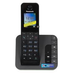 Радиотелефон PANASONIC KX-TGH220RUB, черный