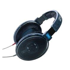 Наушники SENNHEISER HD 600, 3.5 мм, накладные, черный [004465/508824]